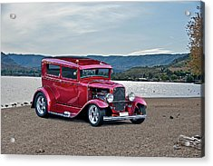 1931 Ford Model A Sedan Acrylic Print by Dave Koontz