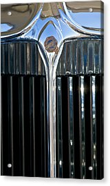 1932 Chrysler Hood Ornament Acrylic Print by Jill Reger
