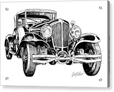 1930 Cord Acrylic Print by Harry West