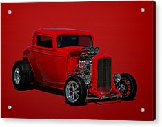 1932 Ford 3 Window Hot Rod Acrylic Print by Tim McCullough