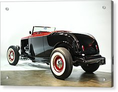 Acrylic Print featuring the photograph 1932 Ford Deuce Roadster by Gianfranco Weiss