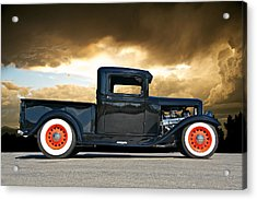 1932 Ford Pick Up Iv Acrylic Print by Dave Koontz