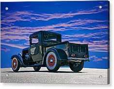 1932 Ford Pick Up V Acrylic Print by Dave Koontz