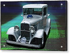 1932 Ford Pickup Acrylic Print by Richard Farrington
