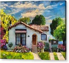 Alameda 1932  Spanish Beauty Acrylic Print