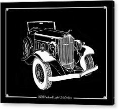 1932 Packard Light Eight Acrylic Print by Jack Pumphrey