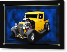 Acrylic Print featuring the photograph 1932 Pickup by Keith Hawley