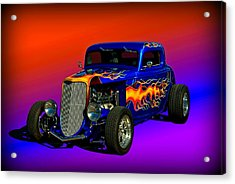 1933 Ford High Boy Hot Rod Acrylic Print by Tim McCullough