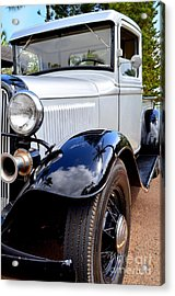 1933 Ford Pickup - Left Fender View Acrylic Print