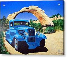 1933 Ford Pickup Acrylic Print