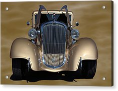 Acrylic Print featuring the photograph 1933 Plymouth Hot Rod Coupe by Tim McCullough