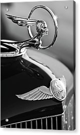 1933 Pontiac Hood Ornament 4 Acrylic Print by Jill Reger