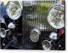 1933 Rolls Royce Phantom II Front Assembly Acrylic Print by Mark Steven Burhart