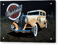 1933 Studebaker Acrylic Print