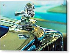 1933 Stutz Dv-32 Hood Ornament Acrylic Print