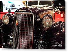 1934 Cadillac V16 Aero Coupe - 5d19876 Acrylic Print by Wingsdomain Art and Photography