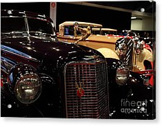 1934 Cadillac V16 Aero Coupe - 5d19877 Acrylic Print by Wingsdomain Art and Photography