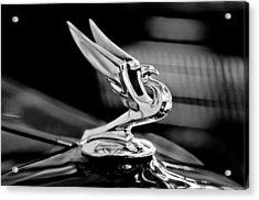 1935 Chevrolet Hood Ornament 3 Acrylic Print by Jill Reger