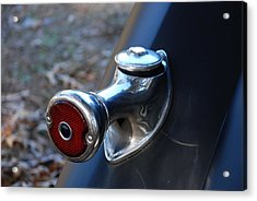 1935 Ford Tail Light And Gas Cap Acrylic Print