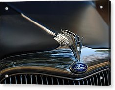 1935 Ford V8 Emblem  Acrylic Print