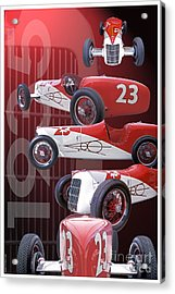 Acrylic Print featuring the photograph 1935 Miller Ford by Ed Dooley