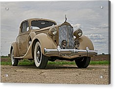 1935 Packard Super 8 Acrylic Print by Jerry Druhan