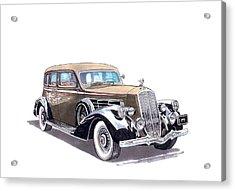 1935 Pierce Arrow V 12 Sedan Acrylic Print