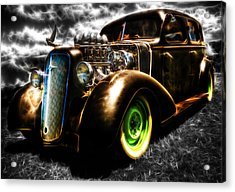 1936 Chevrolet Sedan Acrylic Print by Phil 'motography' Clark