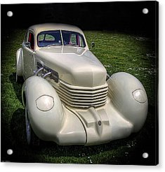 Acrylic Print featuring the photograph 1936 Cord Automobile by Thom Zehrfeld
