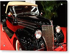 1936 Ford Deluxe Roadster - 5d19963 Acrylic Print by Wingsdomain Art and Photography