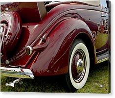1936 Ford Phaeton Acrylic Print by James C Thomas
