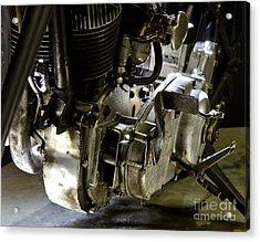 1936 Indian Flat Tracker Motorcycle Acrylic Print by Wilma  Birdwell