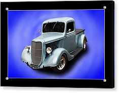 Acrylic Print featuring the photograph 1936 Pickup by Keith Hawley