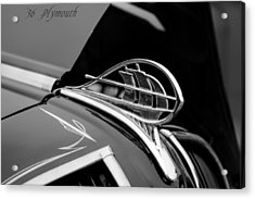 1936 Plymouth Sailing Ship Hood Ornament Acrylic Print