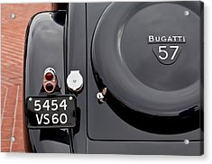 1937 Bugatti Type 57c Ventoux Acrylic Print