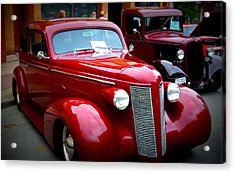 1937 Buick 8 Acrylic Print by Willy  Nelson