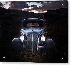 1937 Chevy At Dusk Acrylic Print