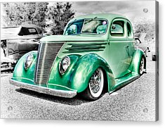 1937 Ford Coupe Acrylic Print by Phil 'motography' Clark