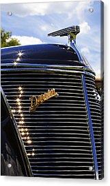 1937 Ford Model 78 Cabriolet Convertible By Darrin Acrylic Print by Gordon Dean II