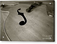 1938 Acoustic Archtop Acrylic Print