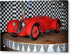 1938 Alfa Romeo 2900b Mm Acrylic Print