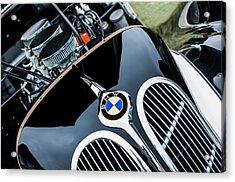 1938 Bmw 327-8 Cabriolet Grille Emblem - Engine Acrylic Print