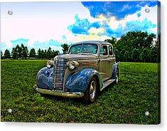 1938 Chevrolet 4 Door Sedan Acrylic Print by Tim McCullough