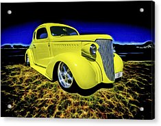 1938 Chevrolet Coupe Acrylic Print by motography aka Phil Clark
