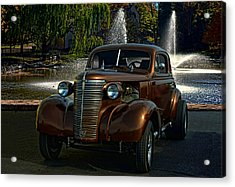 1938 Chevrolet Coupe Street Dragster Acrylic Print