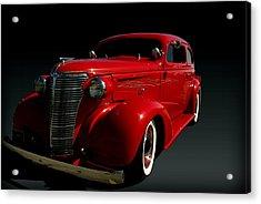 1938 Chevrolet Sedan Hot Rod Acrylic Print by Tim McCullough