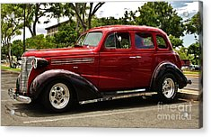 1938 Chevy 4 Door Sedan Acrylic Print