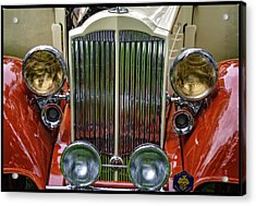 Acrylic Print featuring the photograph 1928 Classic Packard 443 Roadster by Thom Zehrfeld