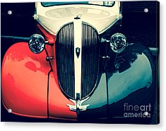 1938 Plymouth Deluxe  Acrylic Print by Steven Digman