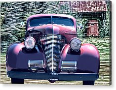 1939 Chevy Immenent Front Original Acrylic Print